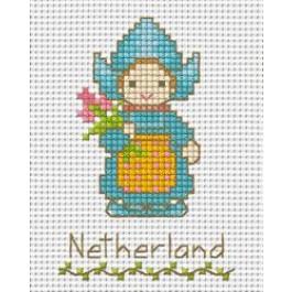 สินค้างานฝีมือ-ครอสติสลายเด็กนานาชาติ - เนเธอร์แลนด์