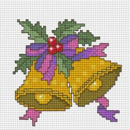 สินค้างานฝีมือ-ครอสติสลายประดับประดาคริสต์มาส - 3