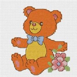 สินค้างานฝีมือ-ครอสติสลายหมี