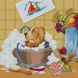 สินค้างานฝีมือ-ครอสติสลายอาบน้ำ