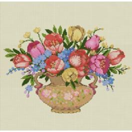 สินค้างานฝีมือ-ครอสติสลายดอกทิวลิป