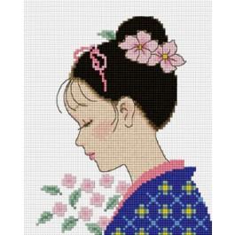 สินค้างานฝีมือ-ครอสติสลายสาวญี่ปุ่น