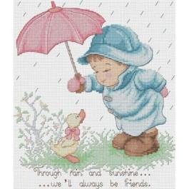 สินค้างานฝีมือ-ครอสติสลายเพื่อนกันวันฝนตก