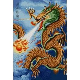 สินค้างานฝีมือ-ครอสติสลายมังกรจีน