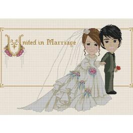 สินค้างานฝีมือ-ครอสติสลายUnited in Marriage
