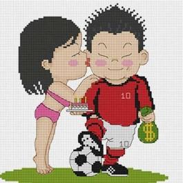 สินค้างานฝีมือ-ครอสติสลายยอดรักนักฟุตบอล