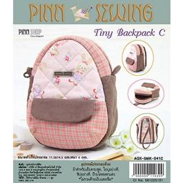 สินค้างานฝีมือ-ชุดคิทงานควิลท์ ชุดคิทควิลท์ งานเย็บกระเป๋า Tiny Backpack (Pink)