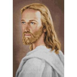 สินค้างานฝีมือ-ครอสติสลายพระเยซู (ภาพสี-ชุดขาว)