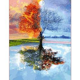 สินค้างานฝีมือ-ครอสติสลาย4 Seasons (ใหญ่)
