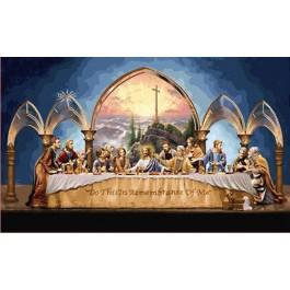 สินค้างานฝีมือ-ครอสติสลายThe Last Supper (กลาง)