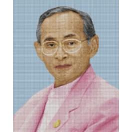 สินค้างานฝีมือ-ครอสติสลายในหลวงฉลองพระองค์สีชมพู