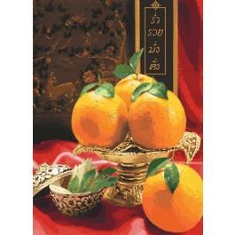 สินค้างานฝีมือ-ครอสติสลายผลส้ม ร่ำรวยมั่งคั่ง