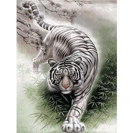 สินค้างานฝีมือ-ครอสติสลายเสือขาว (ใหญ่)