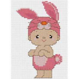สินค้างานฝีมือ-ครอสติสลายปีเถาะกระต่าย (จูเนียร์)