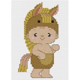 สินค้างานฝีมือ-ครอสติสลายปีมะเมียม้า (จูเนียร์)