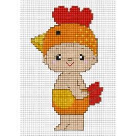 สินค้างานฝีมือ-ครอสติสลายปีระกาไก่ (จูเนียร์)