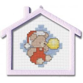 สินค้างานฝีมือ-ครอสติสลายหมีเป่าลูกโป่ง