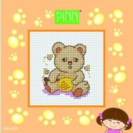 สินค้างานฝีมือ-ครอสติสลายEasy&Fun Kit (หมีจ๋า)