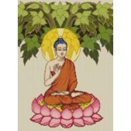 สินค้างานฝีมือ-ครอสติสลายพระพุทธเจ้า (ภาพสี)
