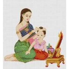 สินค้างานฝีมือ-ครอสติสลายงามอย่างไทย