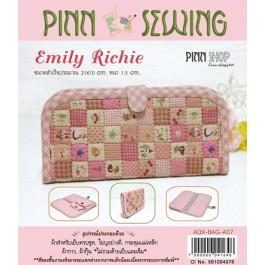 สินค้างานฝีมือ-ชุดคิทควิลท์ งานเย็บกระเป๋าใส่ธนบัตร Emily Richie Quilt