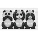 สินค้างานฝีมือ-ครอสติสลายNo evil pandas