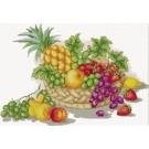 สินค้างานฝีมือ-ครอสติสลายตะกร้าผลไม้