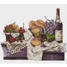 สินค้างานฝีมือ-ครอสติสลายFruits & Wine