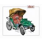 สินค้างานฝีมือ-ครอสติสลายรถโบราณ duc