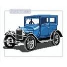 สินค้างานฝีมือ-ครอสติสลายรถโบราณ Ford T 1927