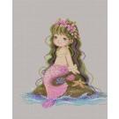 สินค้างานฝีมือ-ครอสติสลายLittle Mermaid