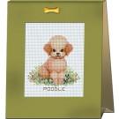 สินค้างานฝีมือ-ครอสติสลายลูกหมาแสนรัก - POODLE