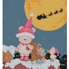 สินค้างานฝีมือ-ครอสติสลายซานต้า เท็ดดี้