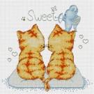 สินค้างานฝีมือ-ครอสติสลายSweet Cats