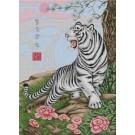 สินค้างานฝีมือ-ครอสติสลายเสือขาว (ฝาน หยง ฟู่ เฉียง )