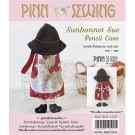 สินค้างานฝีมือ-ชุดคิทควิลท์ งานเย็บกระเป๋าดินสอ Sunbernet Sue Pencil Case Quilt