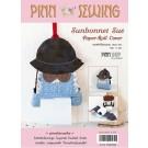 สินค้างานฝีมือ-ชุดคิทควิลท์ งานเย็บที่ใส่ทิชชู่ Sunbernet Sue paper-roll cover Quilt
