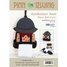 สินค้างานฝีมือ-ชุดคิทควิลท์ งานเย็บที่ใส่ทิชชู่ Sunbernet Sam paper-roll cover Quilt