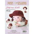 สินค้างานฝีมือ-ชุดคิทควิลท์ ชุดคิทควิลท์ งานเย็บตุ๊กตา Hug-me (Girl)
