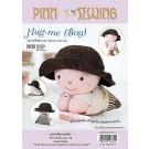 สินค้างานฝีมือ-ชุดคิทควิลท์ ชุดคิทควิลท์ งานเย็บตุ๊กตา Hug-me (Boy)