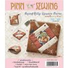 สินค้างานฝีมือ-ชุดคิทควิลท์ งานเย็บกระเป๋าใส่เหรียญ Bess & Billy Square Purse Quilt