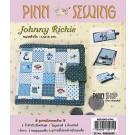 สินค้างานฝีมือ-ชุดคิทงานควิลท์ ชุดคิทควิลท์ งานเย็บกระเป๋าสตางค์ Johny Richie (Blue)
