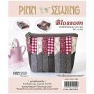 สินค้างานฝีมือ-ชุดคิทควิลท์ ชุดคิทควิลท์ งานเย็บกระเป๋า Blossom