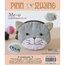 สินค้างานฝีมือ-ชุดคิทควิลท์ งานเย็บกระเป๋า Me-o (แมว) Quilt