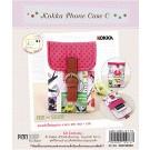 สินค้างานฝีมือ-ชุดคิทงานควิลท์ ชุดคิทควิลท์ งานเย็บกระเป๋าใส่โทรศัพท์ Kokka Phone Case C