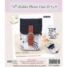 สินค้างานฝีมือ-ชุดคิทงานควิลท์ ชุดคิทควิลท์ งานเย็บกระเป๋าใส่โทรศัพท์ Kokka Phone Case D