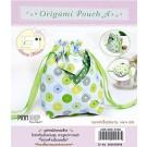 สินค้างานฝีมือ-ชุดคิทงานควิลท์ ชุดคิทควิลท์ ถุงใส่ของ Origami Pouch A (Green)