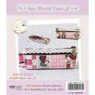 สินค้างานฝีมือ-ชุดคิทควิลท์ ชุดคิทควิลท์ งานเย็บกระเป๋า Sue pencil Case A