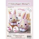 สินค้างานฝีมือ-ชุดคิทงานควิลท์ ชุดคิทควิลท์ ตุ๊กตาไม้หนีบ Cutie Hugger  (Bunny)