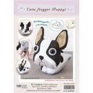 สินค้างานฝีมือ-ชุดคิทงานควิลท์ ชุดคิทควิลท์ ตุ๊กตาไม้หนีบ Cutie Hugger  (Puppy)